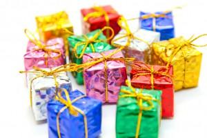 たくさんの小さなプレゼント