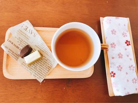お茶のご用意