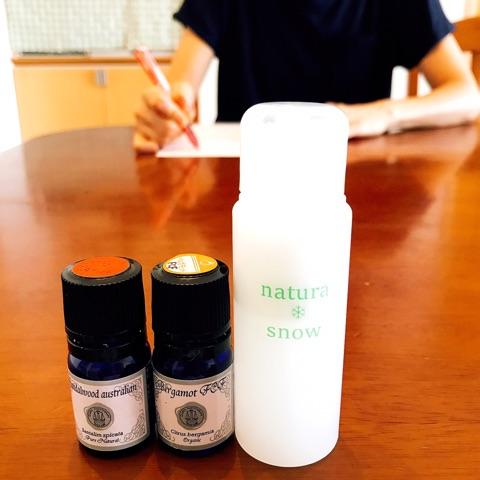 2017年9月14日長時間保湿アロマ化粧水教室
