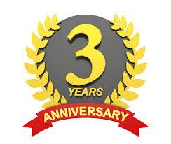 3周年記念赤帯